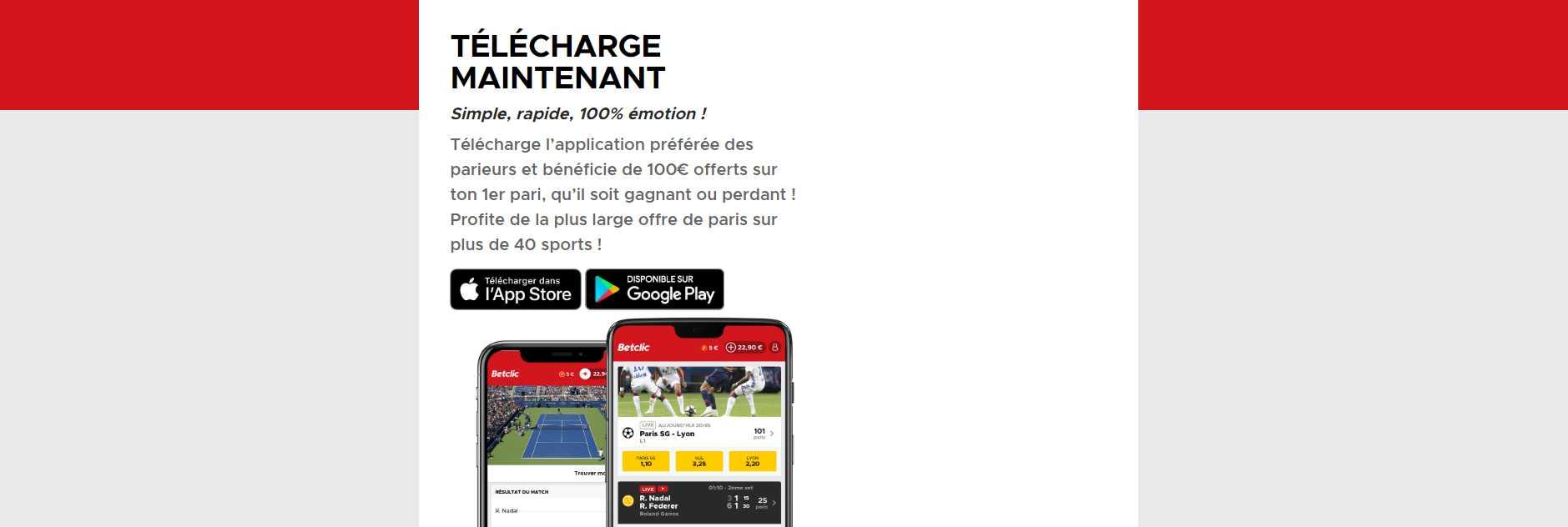 telecharger betclic