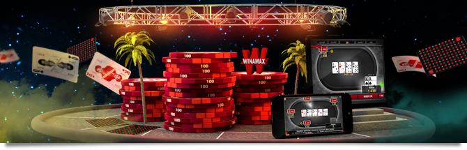 Bonus sur poker a Winamax application