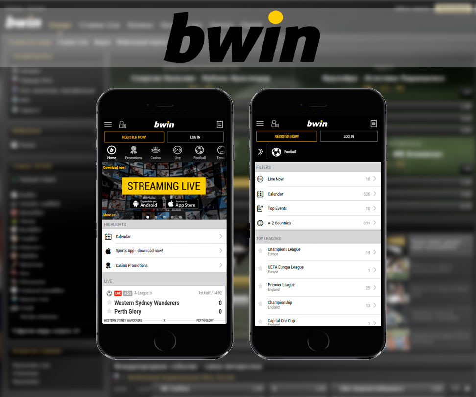Bwin mobile application por iphone