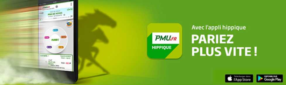 PMU application hippique